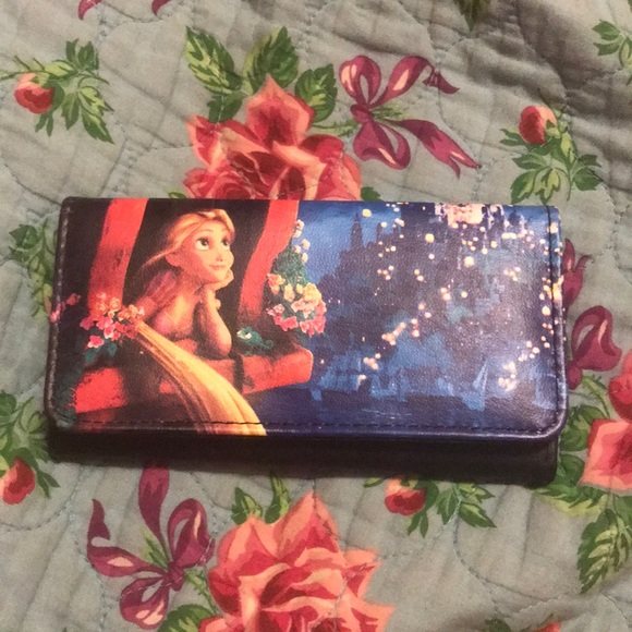 Disney Bags Rapunzel Tangled Loungefly Wallet New Poshmark